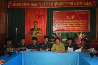 Ký kết Kế hoạch phối hợp trong công tác quản lý bảo vệ rừng và đấu tranh phòng chống buôn lậu qua biên giới KV VQG Phong Nha - Kẻ Bàng